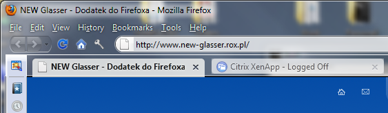 Screen Shot Glasser Ad-On Firefox